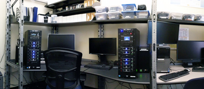 The Digital Forensics Laboratory at UNC SILS