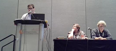 """""""Harnessing Research and Data to Advance Readers' Advisory Services"""" panel"""