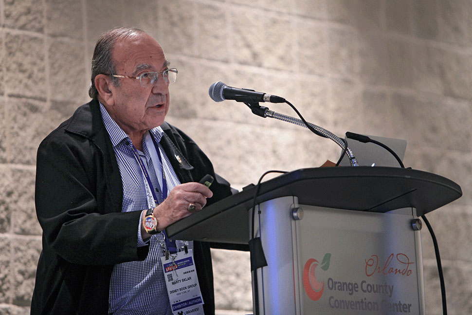 Marty Sklar, former president of Disney Imagineering, headlines the Association for Library Service to Children President's Program at ALA's Annual Conference on Monday. Photo: Cognotes