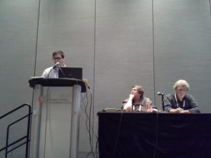 """Harnessing Research and Data to Advance Readers' Advisory Services"" panel"