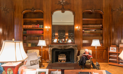The New York Society Library, one of many that had a live-in superintendent.