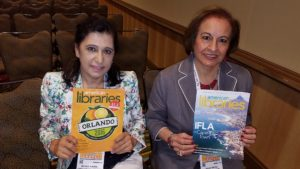 Randa Kamal (left) and Diana Sayej-Naser