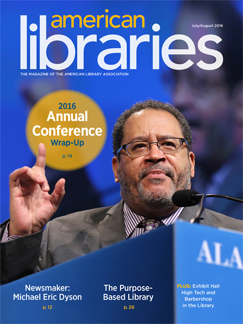 American Libraries July/August 2016 cover