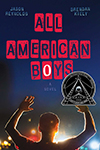 Cover of All-American Boys, by Jason Reynolds and Brendan Kiely