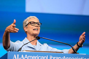 "Jamie Lee Curtis, actress and children's book author.<span class=""credit"">Photo: Cognotes</span>"