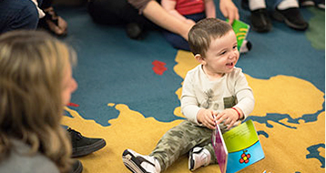 Baby Wednesdays offer an inclusive way to reach and assist young families