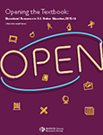 Cover of Opening the Textbook