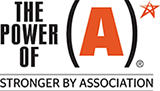 Power of A award logo