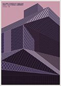 Seattle Public Library poster