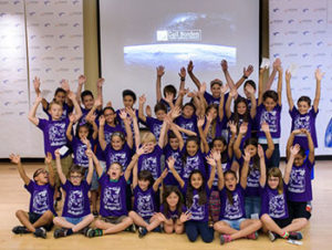 "The 31 students who participated in the NASA event were 2nd–5th graders recruited by their schools and required to submit qualifying applications.<span class=""credit"">Photo: Jason Brown</span>"