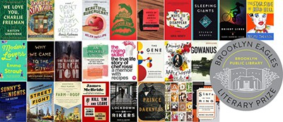 2016 Brooklyn Eagles Prize shortlist