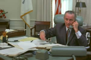 Lyndon B. Johnson. Photo: Lyndon Baines Johnson Presidential Library and Museum