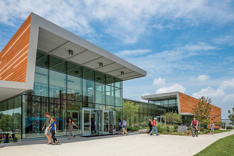 2016 library design showcase american libraries magazine for Modern library building design