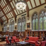 Special libraries, more than 30,000 square feet, David M. Rubenstein Rare Book and Manuscript Library, Duke University, Durham, North Carolina
