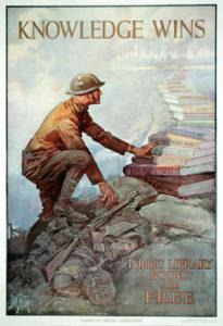 World War I Knowledge Wins poster