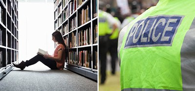 The new library police