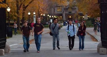 University of Chicago students