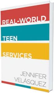 <i>Real-World Teen Services<i> by Jennifer Velásquez (ALA Editions, 2015).