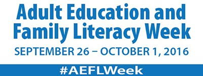Adult Education and Family Literacy Week