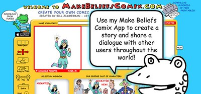 MakeBeliefsComix website