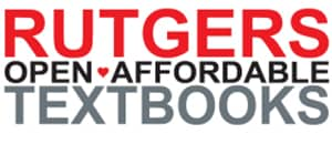 Rutgers Open Affordable Textbooks