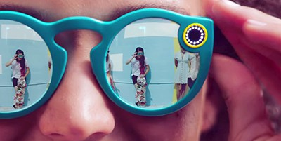 Snap's Spectacles. Screenshot from video