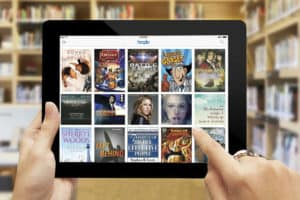 Hoopla's catalog includes more than 500,000 items and is accessible by mobile app.