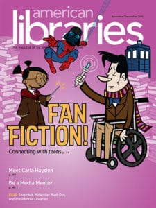 American Libraries November/December 2016 cover