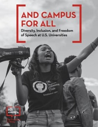 "Cover of ""And Campus for All: Diversity, Inclusion, and Free Speech at US Universities"""