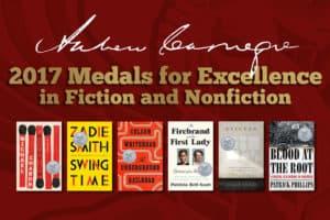 2017 Carnegie Medals shortlist titles