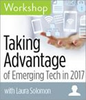 Taking advantage of emerging tech