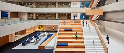 New OCLC atrium