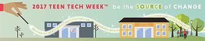 2017 Teen Tech Week banner