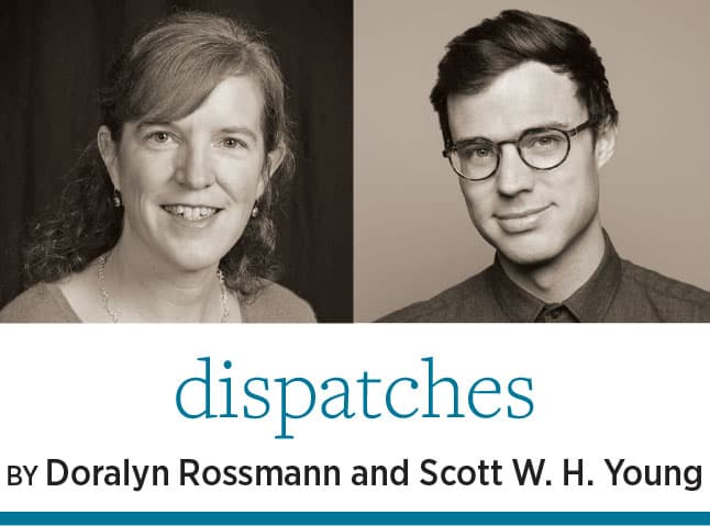 Doralynn Rossmann and Scott. W. H. Young
