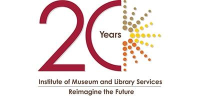 IMLS 20th anniversary logo