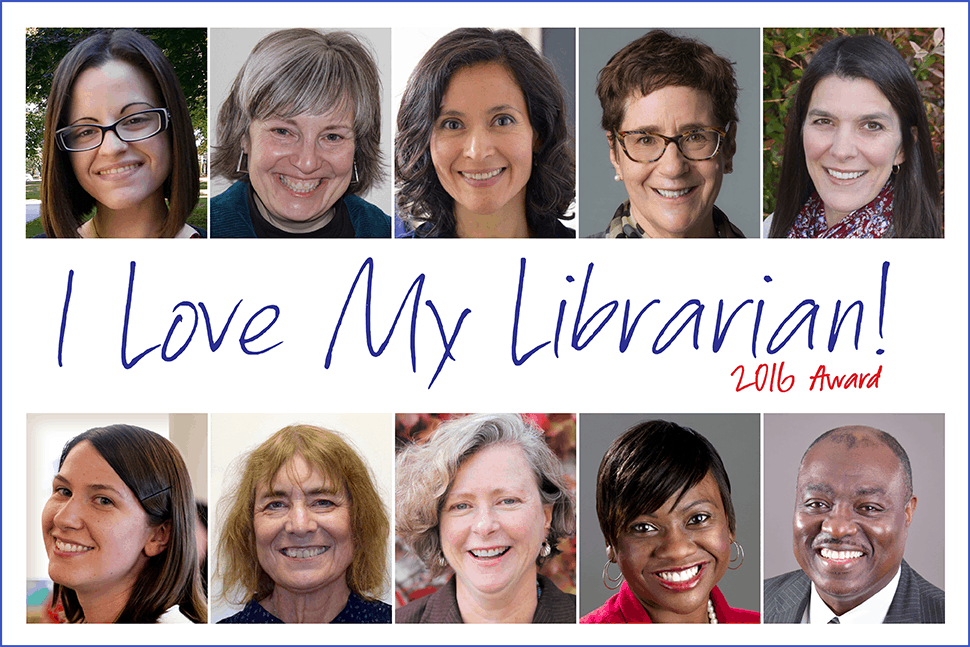I Love My Librarian! 2016