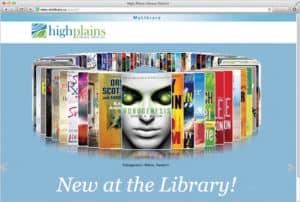 Syndetics Unbound book browsing widget