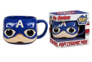 Funko Pop Captain America Mug