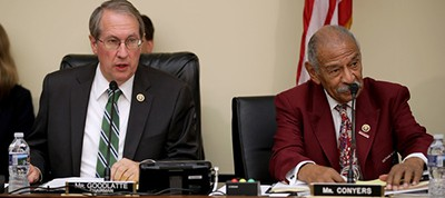 Bob Goodlatte and John Conyers