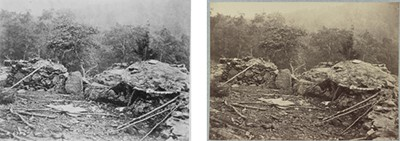 Left, from NARA. Right, from Library of Congress