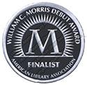 Morris Award finalist seal