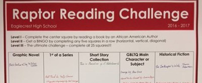 Raptor Reading Challenge, Eaglecrest High School