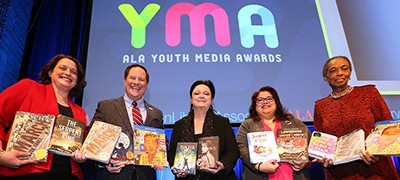 A selection of the Youth Media Award winners