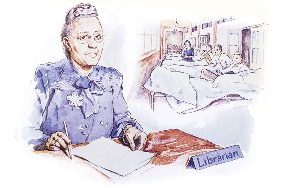 Sadie Peterson Delaney. Illustration: Mary Phelan