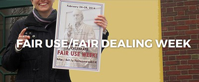 Fair Use / Fair Dealing Week