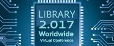 Library 2.017 virtual conference logo