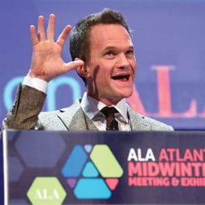 "Neil Patrick Harris at the Closing Session. <span class=""credit"">Photo: Cognotes</span>"