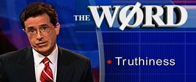 Stephen Colbert's Truthiness