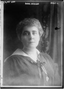 Anne Morgan, daughter of the president of J. P. Morgan & Company and a fundraiser for World War I relief as head of the American Committee for Devastated France. Photo: Flickr Commons project, 1914