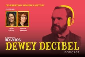 Dewey Decibel March 2017 podcast logo